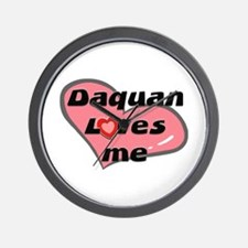 daquan loves me  Wall Clock