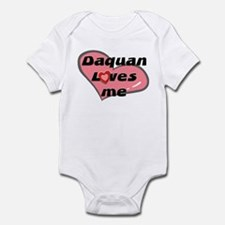 daquan loves me  Infant Bodysuit