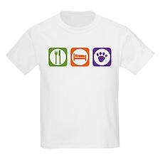 Eat Sleep Mutt Kids T-Shirt