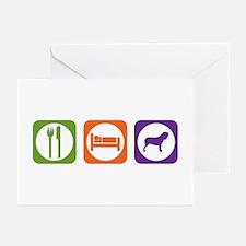Eat Sleep Neo Greeting Cards (Pk of 10)