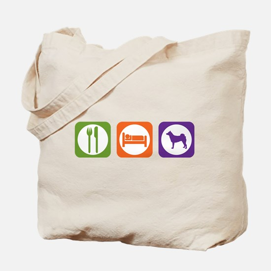 Eat Sleep Norrbottenspets Tote Bag
