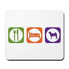 Eat Sleep Norrbottenspets Mousepad