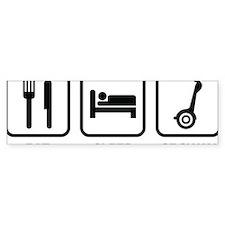 eatSleepSegway1A Bumper Sticker