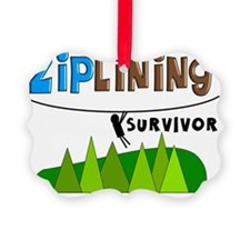 ziplines survivor 4 Ornament