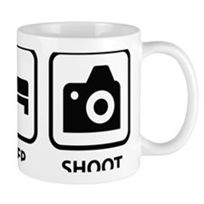 eatSleepShoot1A Mug