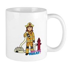 Firefighter Woman Mug