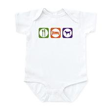 Eat Sleep Lundehund Infant Bodysuit