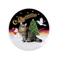 "NightFlight-Bobtail Cat 3.5"" Button"