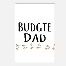 Budgie Dad Postcards (Package of 8)