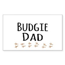 Budgie Dad Decal