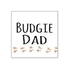 Budgie Dad Sticker