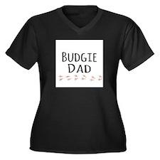 Budgie Dad Plus Size T-Shirt