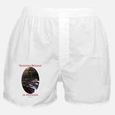 Wisdom Begins in Wonder Boxer Shorts