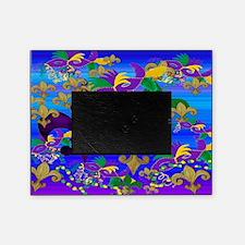 Mardi Gras Psycadelic Picture Frame