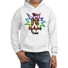 This IS My Inside Voice Hooded Sweatshirt