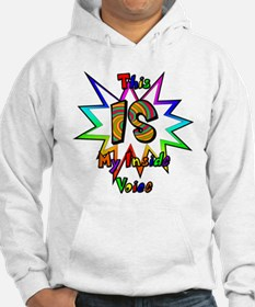 This IS My Inside Voice Jumper Hoody