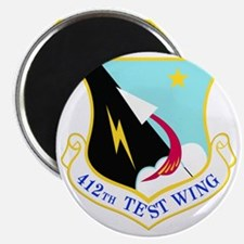 USAF Air Force 412th Test Wing Shield Magnet