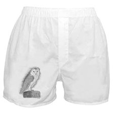 Barn Owl Boxer Shorts