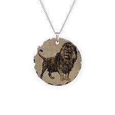 Vintage Lion Necklace
