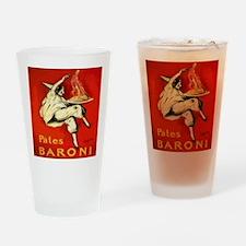 Cappiello Pates Baroni Spaghetti Po Drinking Glass