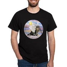Clouds-AmericanBobtail Angel T-Shirt