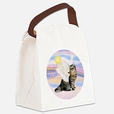 Clouds-AmericanBobtail Angel Canvas Lunch Bag