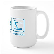 eatSleepWaterski1C Mug