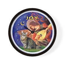 Angel3 - American Bobtail cat Wall Clock