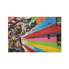 NYC calendar cover Rectangle Magnet