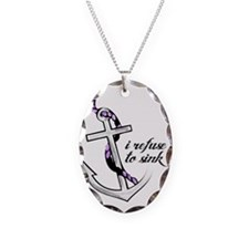 Refuse to sink. Necklace