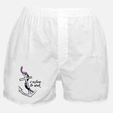Refuse to sink. Boxer Shorts
