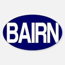 Bairn (Blue) for white Decal