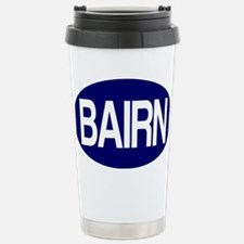 Bairn (Blue) for white Stainless Steel Travel Mug
