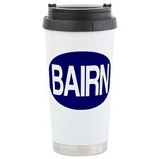 Bairn (Blue) for white Travel Mug