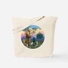 St Francis  American Bobtail Tote Bag