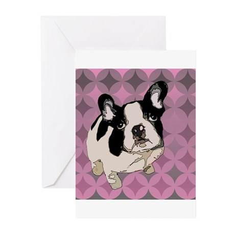 Dot the Frenchie Greeting Cards (Pk of 10)