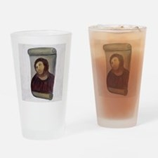 Jesus Fresco full Drinking Glass
