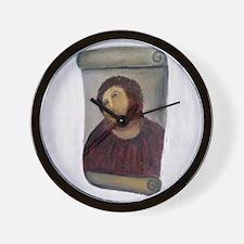 Jesus Fresco full Wall Clock
