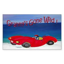 Grannys Gone Wild Decal