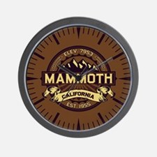 Mammoth Sepia Wall Clock
