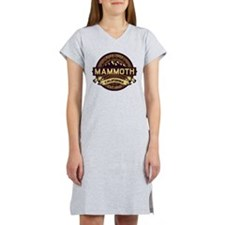 Mammoth Sepia Women's Nightshirt