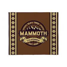 Mammoth Sepia Throw Blanket
