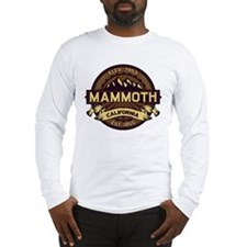 Mammoth Sepia Long Sleeve T-Shirt