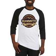 Mammoth Sepia Baseball Jersey