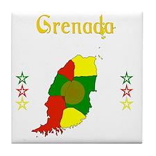 Grenada Tile Coaster