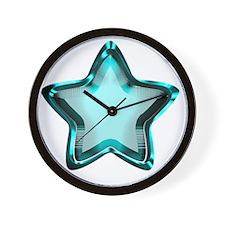 Aqua Star Wall Clock