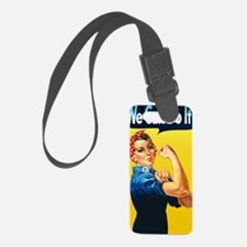 Rosie We Can Do It Luggage Tag