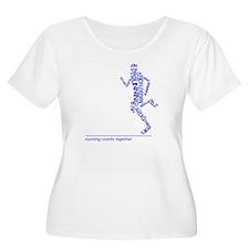 Running Man i T-Shirt