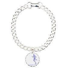 Running Man in Words (rw Charm Bracelet, One Charm
