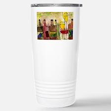 Tuscany Wine art Travel Mug